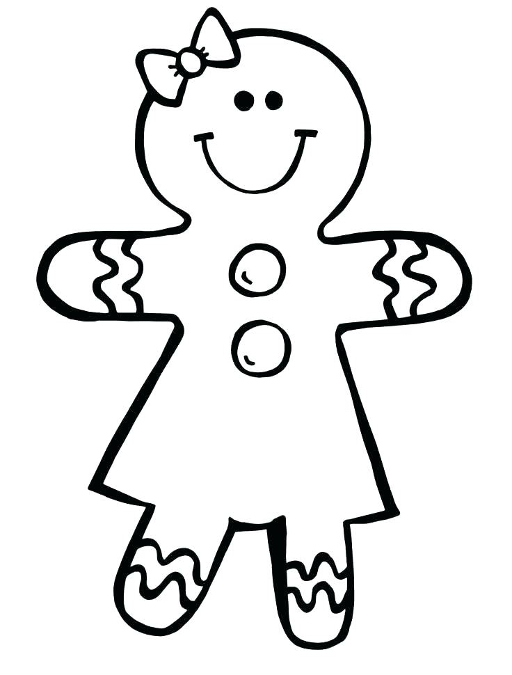 736x970 Coloring Pages Gingerbread Man Gingerbread Man Coloring Pages Best