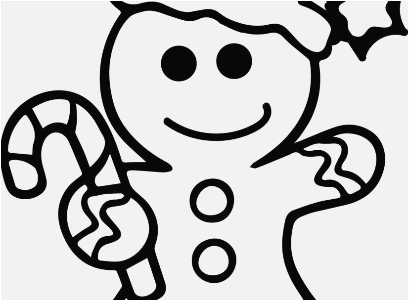 827x609 Gingerbread Coloring Pages Collection Gingerbread Man Coloring