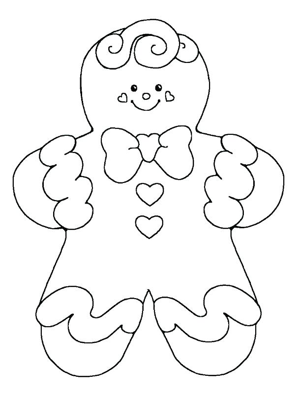 604x805 Gingerbread Baby Coloring Pages Gingerbread Girl Coloring Page