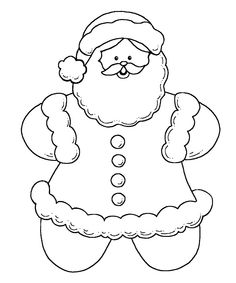 236x283 Gingerbread Boy Pixels Large Coloring Pages