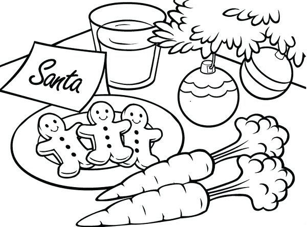 600x444 Gingerbread Man Color Page Coloring Page Gingerbread Man