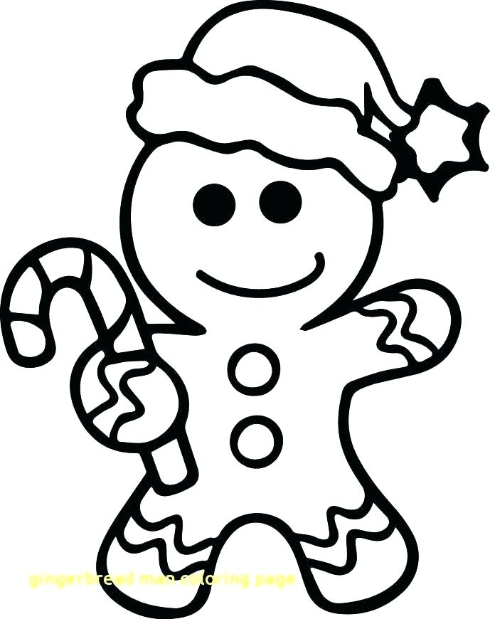 689x870 Gingerbread Man Color Page Good Gingerbread Man Coloring Pages