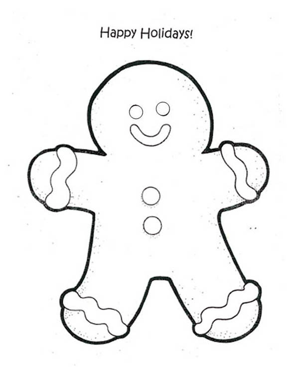 600x787 Happy Holiday Coloring Pages For Christmas