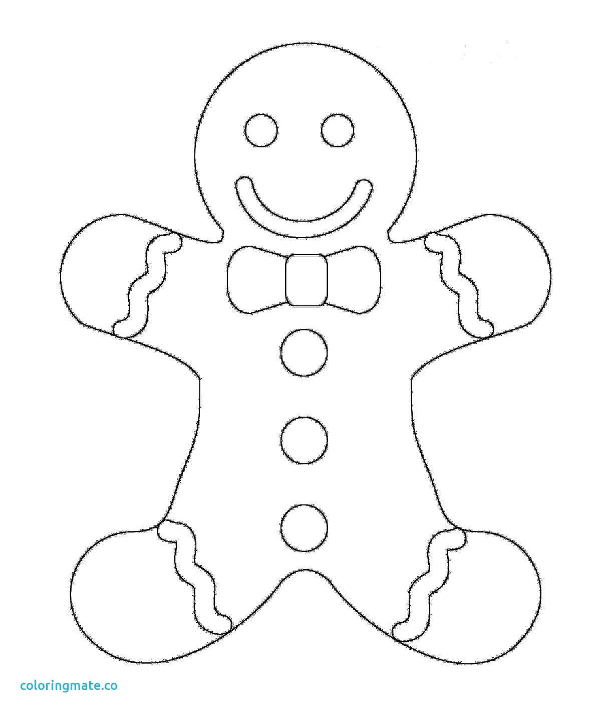 1200x1424 Gingerbread Man Coloring Page Luxury Adorable Colouring Sheet