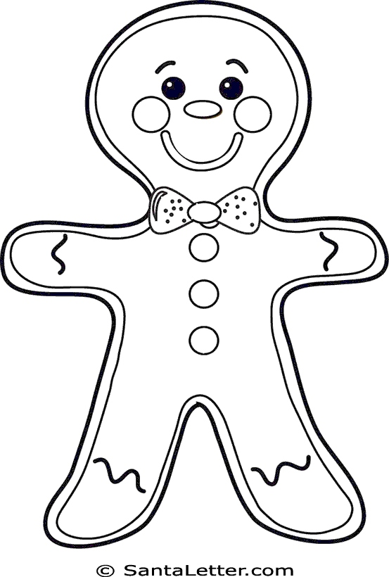 553x820 Gingerbread Man Coloring Pages Lovely Free Gingerbread Outline