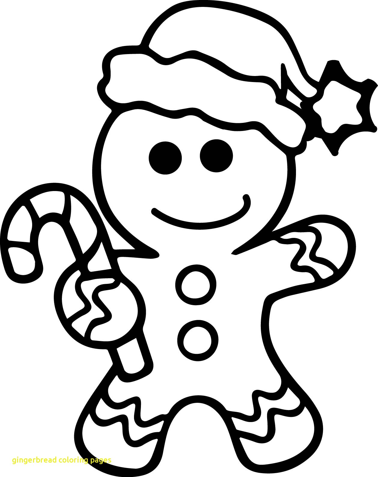 1258x1588 Gingerbread Girl Coloring Page Pages