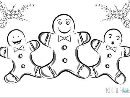 440x330 Gingerbread Girl Coloring Pages Gingerbread Girl Coloring Pages