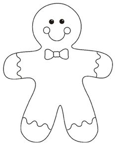 236x304 Gingerbread Girl Coloring Pages