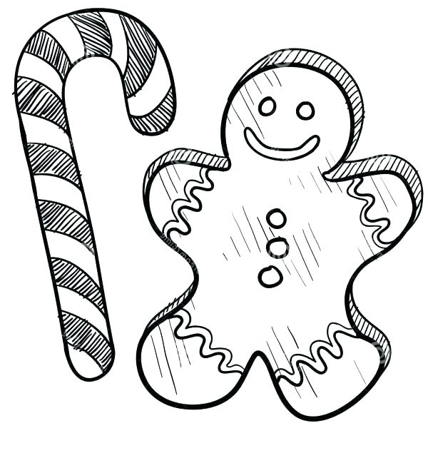 600x642 Christmas Candy Coloring Pages Candy Coloring Pages Candy Coloring
