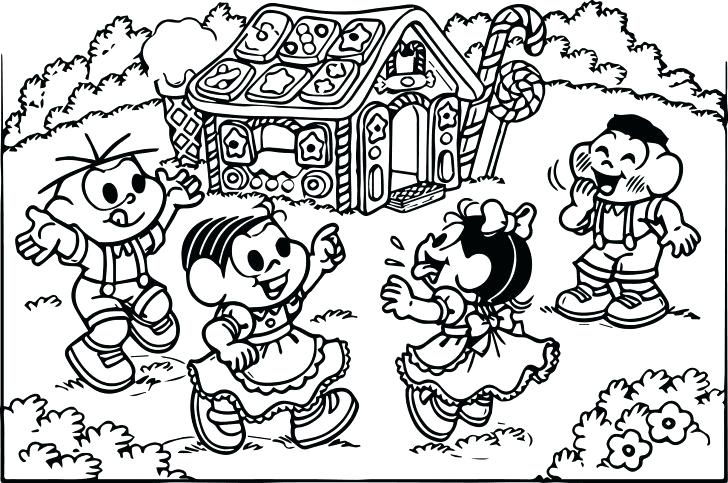 728x483 Coloring Pages House Coloring Pages House Printable Gingerbread
