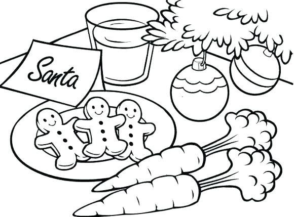 580x429 With Easy Gingerbread House Coloring Pages Printable In Page Print