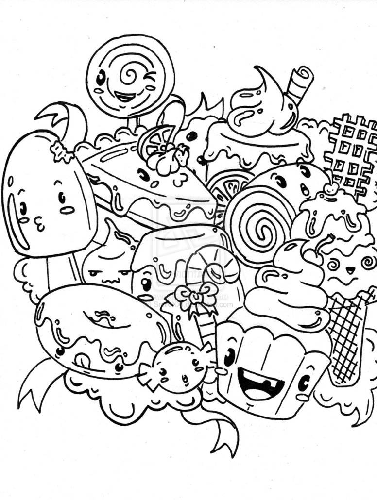 776x1030 Candy Coloring Pages For Gingerbread House