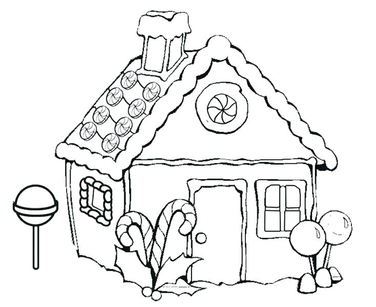 734x600 Candy Corn Coloring Pages Candy Coloring Sheets Gingerbread House