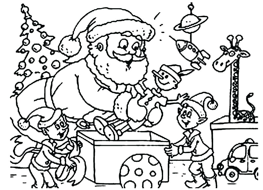 1024x741 Difficult Christmas Coloring Pages Coloring Page Free Coloring