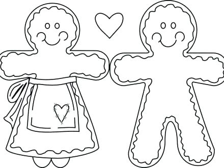 440x330 Gingerbread House Coloring Page Free Printable Gingerbread House