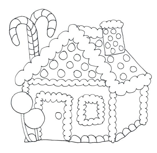 550x539 House Coloring Pages Little House In Houses Coloring Page