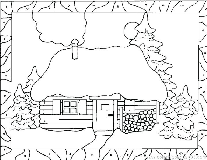 720x555 House Coloring Pages Printable House Coloring Pages Printable