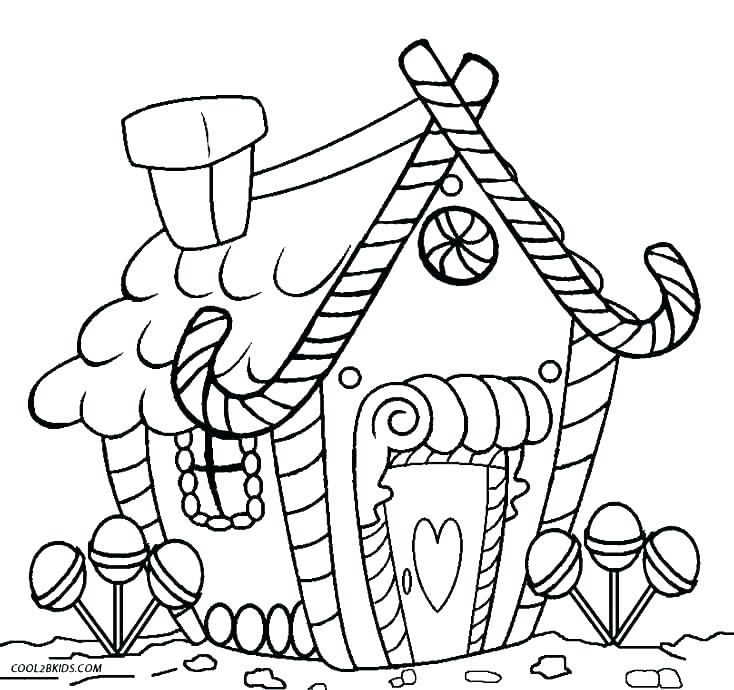 734x690 Gingerbread Man Color Page Gingerbread Man Coloring Pages For Kids