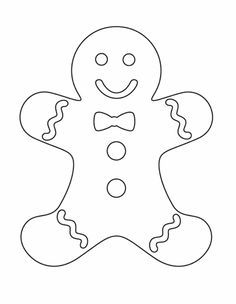 236x304 Christmas Gingerbread Man Coloring Pages Gingerbread Men