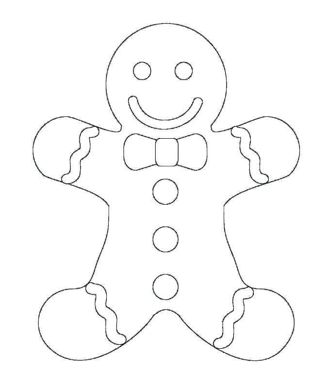 674x800 Gingerbread Man Color Page Coloring Pages Gingerbread Man