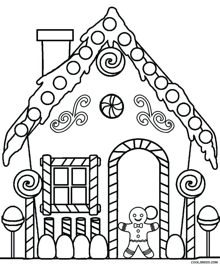 736x886 Gingerbread Man Coloring Pages