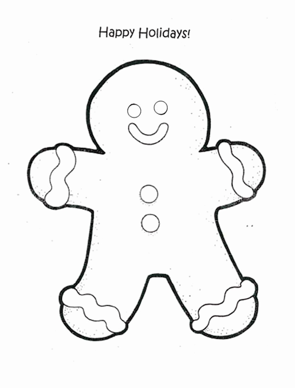 600x787 Hatchet Man Coloring Pages Images Happy Holidays Say Gingerbread