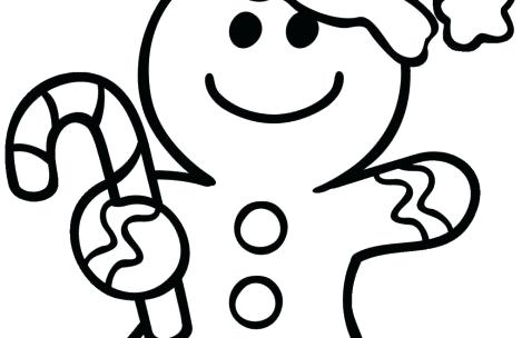 Gingerbread Man Coloring Pages Story At GetDrawings Free Download