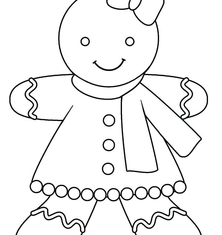 850x900 Gingerbread Man Coloring Page Coloring Sheets Gingerbread Man
