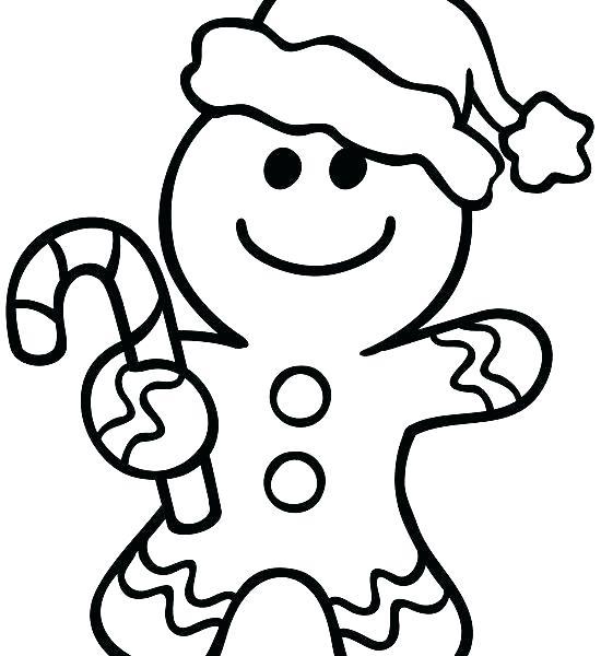 550x600 Gingerbread Man Coloring Page Cowboy Gingerbread Man Coloring Page