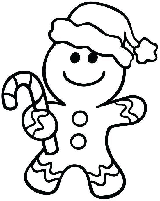 550x689 Gingerbread Man Coloring Pages Free Printable Gingerbread Man