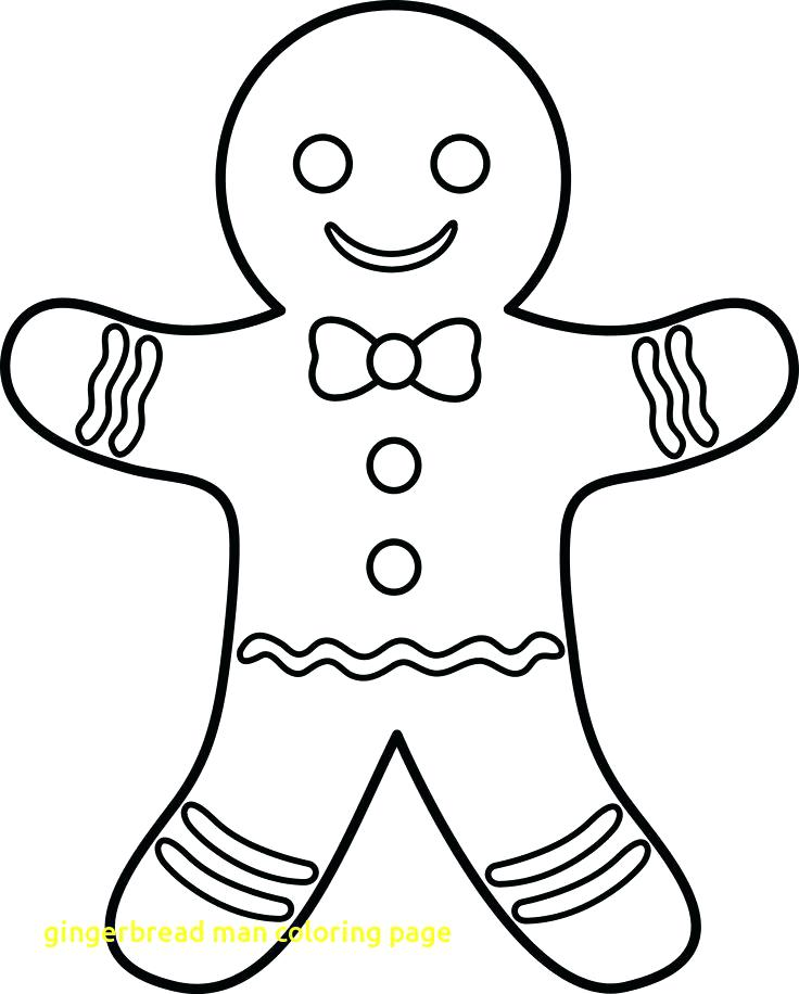 736x916 Gingerbread Man Colouring Pages Gingerbread Man Coloring Page