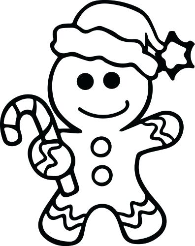 396x500 Gingerbread Man Story Printable Gingerbread Man Coloring Pages