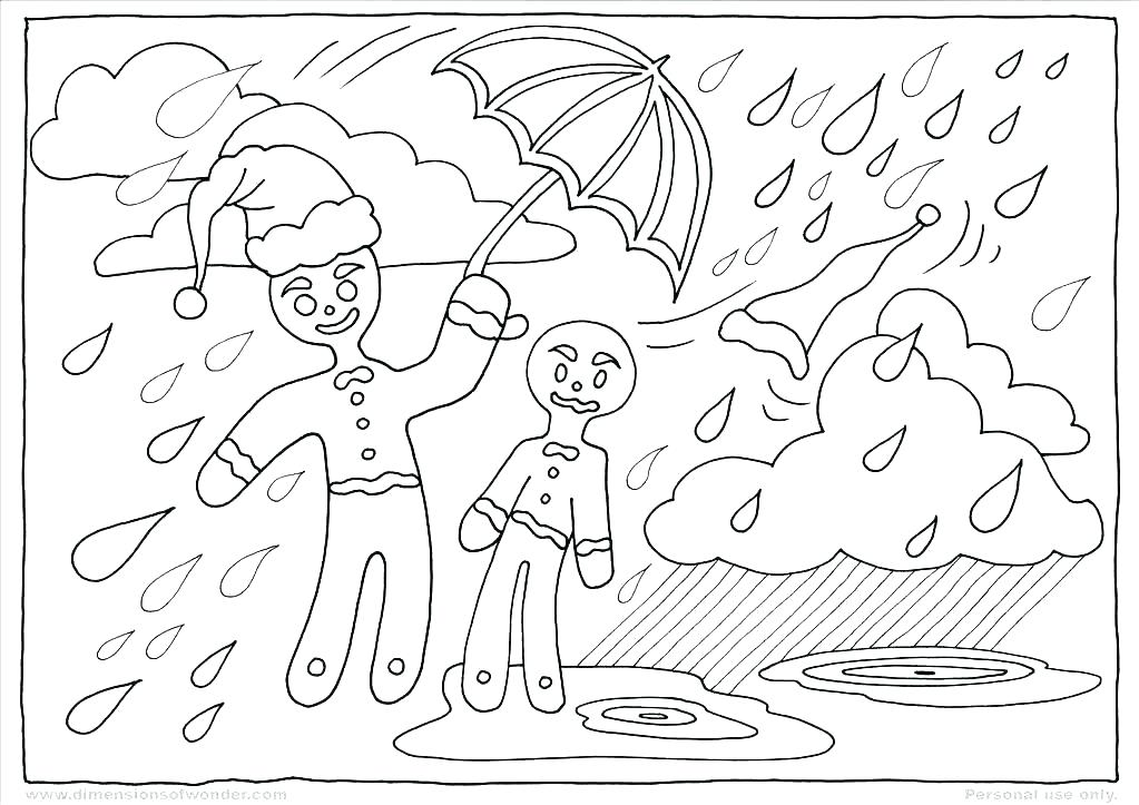 1023x723 Coloring Pages Gingerbread Man Story Free Printable For Kids
