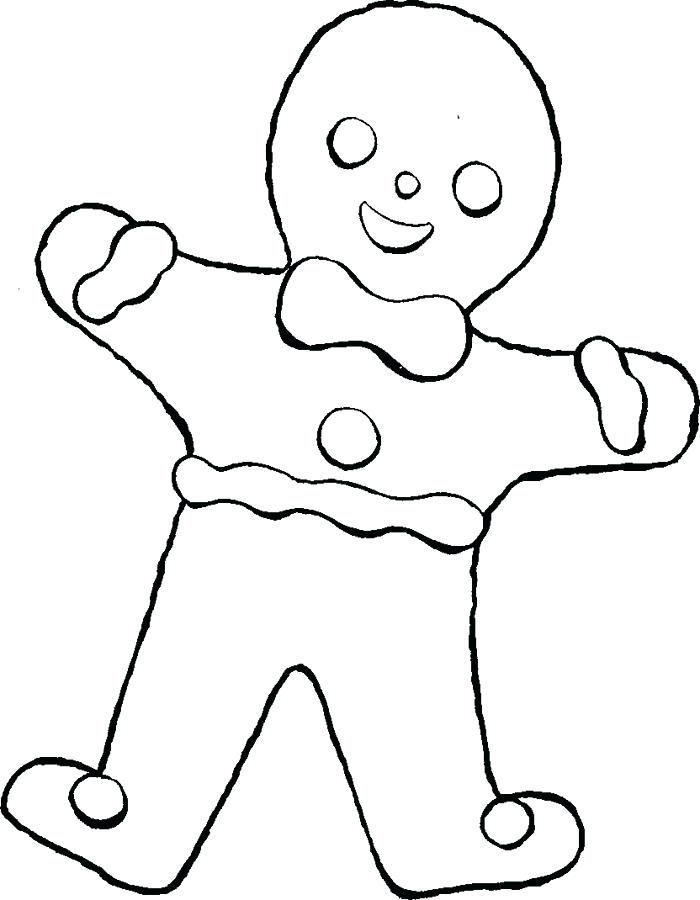 700x900 Gingerbread Man Color Page Gingerbread Coloring Pages Gingerbread