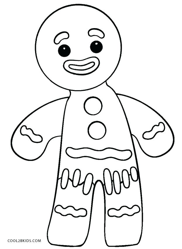 photograph regarding Gingerbread Man Story Printable named Gingerbread Guy Tale Coloring Web pages at