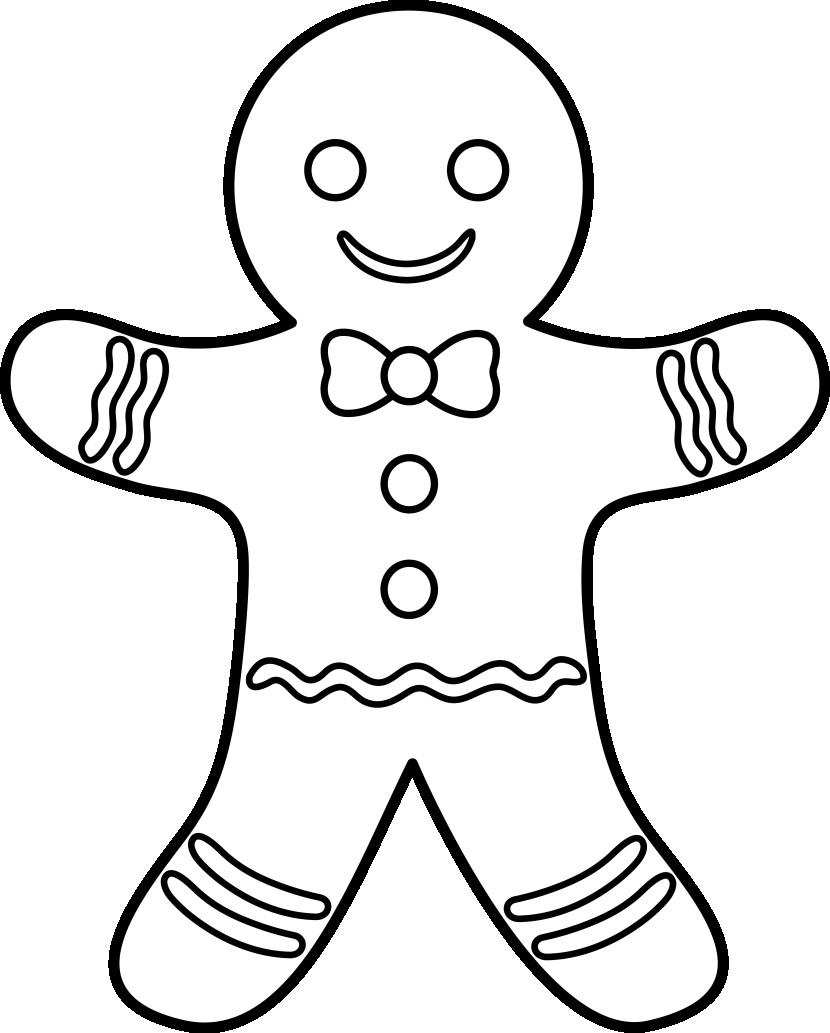 graphic about The Gingerbread Man Story Printable Free known as Gingerbread Gentleman Tale Coloring Web pages at