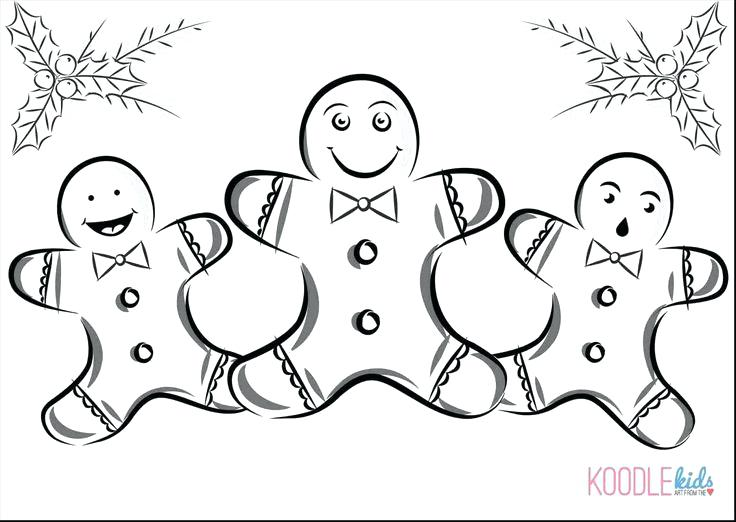 736x522 Gingerbread Girl Coloring Page Mural Gingerbread Girl Coloring