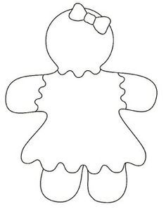 236x305 Gingerbread Girl Coloring Pages