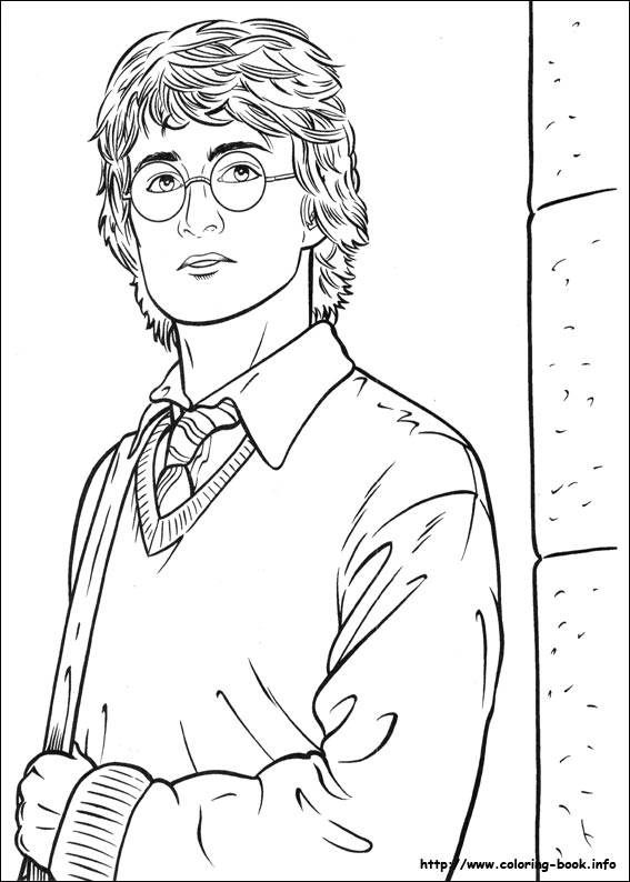 Ginny Weasley Coloring Pages at GetDrawings | Free download