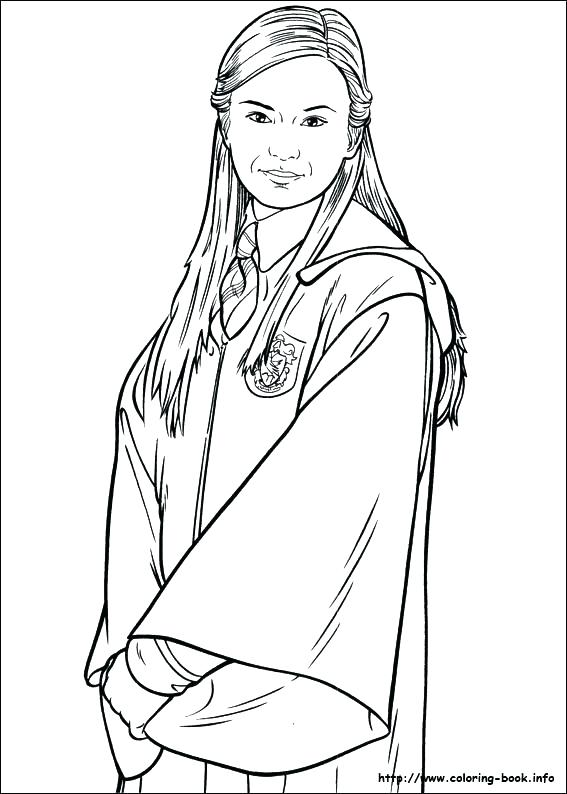 Coloriage Hermione Et Ginny.Ginny Weasley Coloring Pages At Getdrawings Com Free For