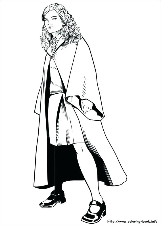 Ginny Weasley Coloring Pages at GetDrawings.com | Free for personal ...