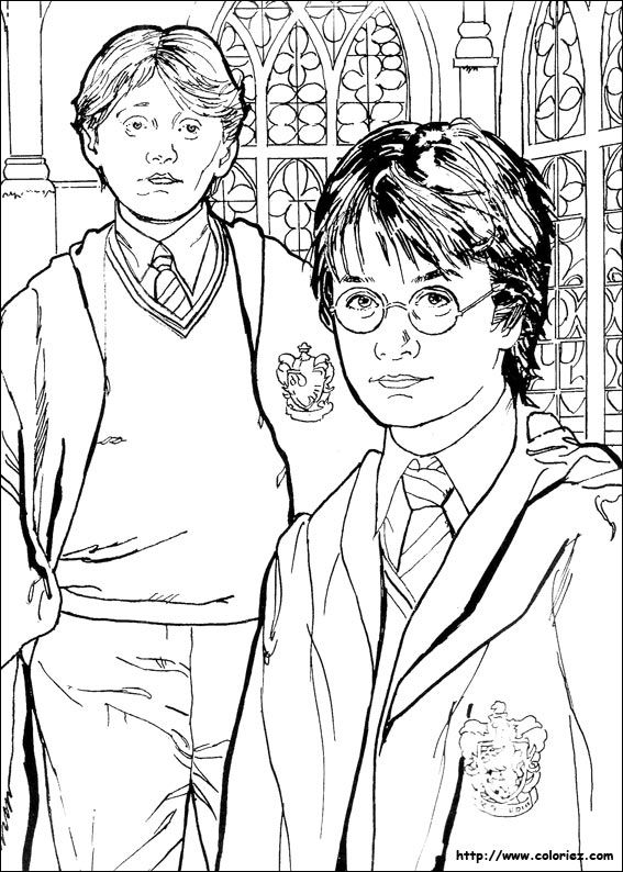 Ginny Weasley Coloring Pages At Getdrawings Free Download