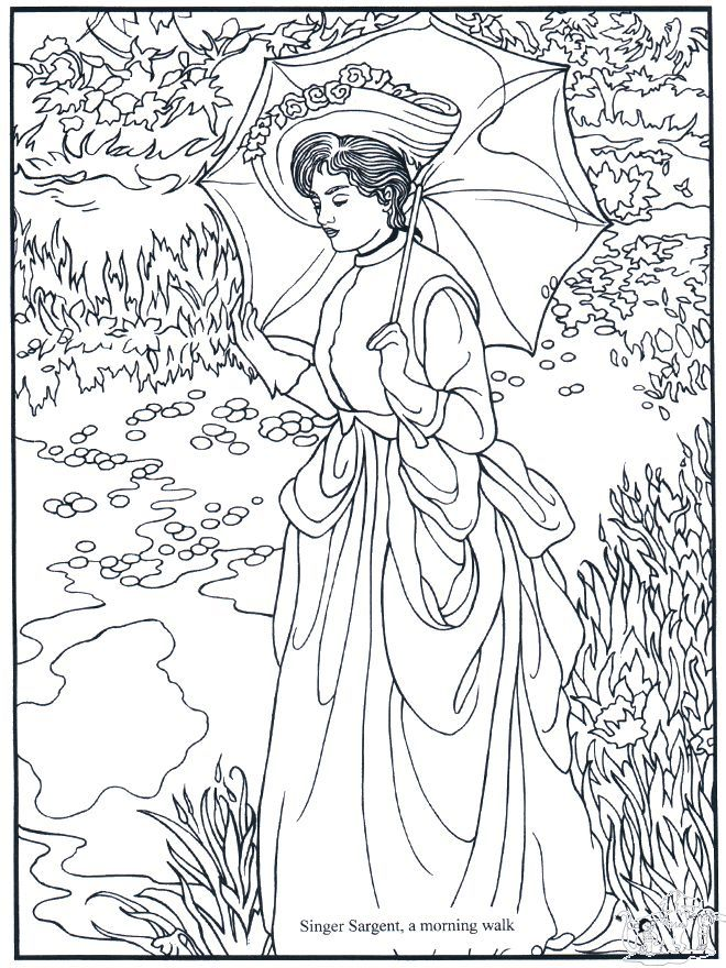 Giotto Coloring Page