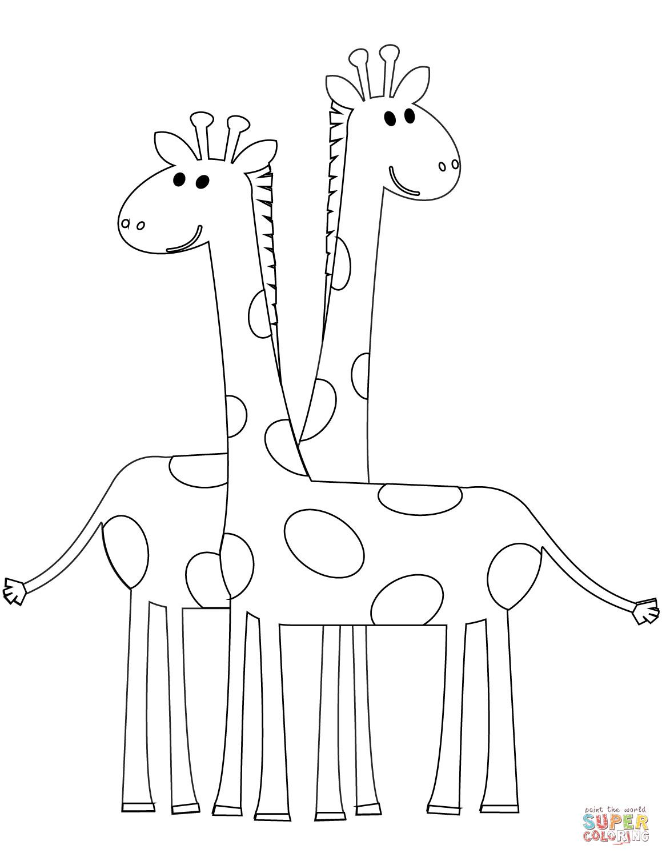 1159x1500 Cute Giraffe Coloring Pages Wagashiya