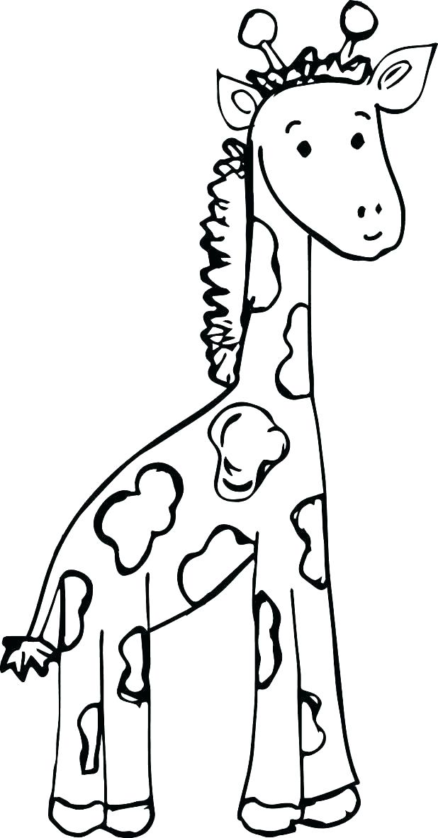 618x1183 Giraffe Coloring Pages Baby Giraffe Coloring Pages Cute Giraffe