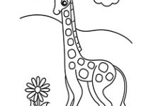 220x150 Clever Design Giraffe Coloring Pages For Adults Crayola Page Baby