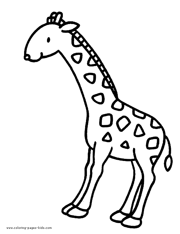 590x769 Giraffe Coloring Page Lovely Free Printable Giraffe Coloring Pages
