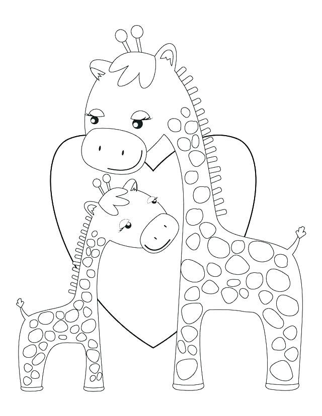 640x828 Giraffe Coloring Pages Giraffe Head Coloring Picture Baby Giraffe