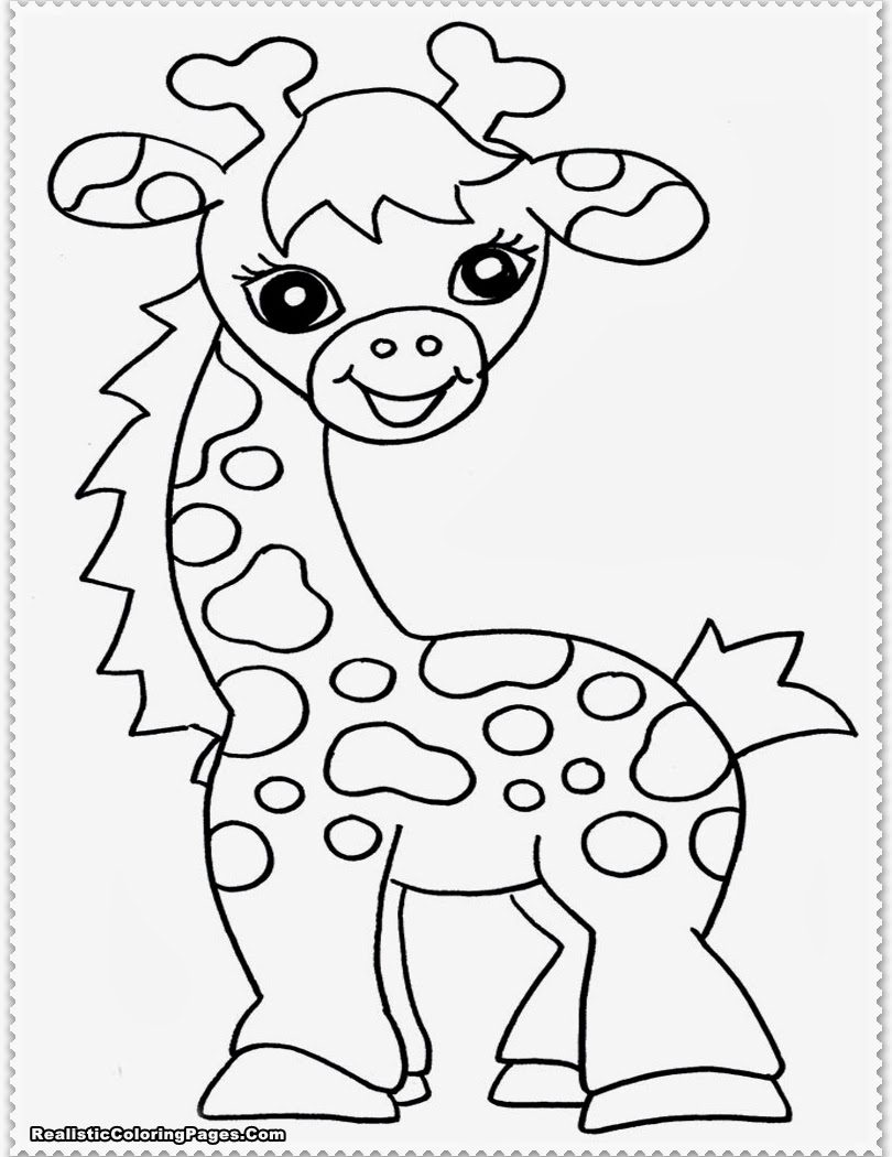 810x1050 Baby Giraffe Colouring Pages Color Printable Coloring Marvelous