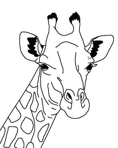 400x500 New Printable Giraffe Coloring Pages For Sweet Inspiration New